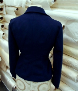 Dressmaker's Jacket Back View