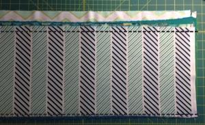 trim fabrics to 9 in