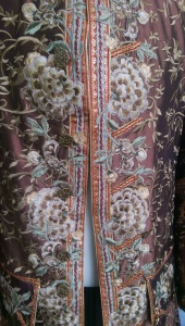 NSB - baroque men's coat detail