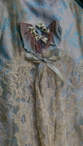 NSB - 18th century ball gown skirt detail