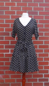 NSB - Polka Dot dress front