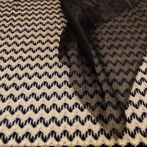 NSB - chevron raschel knit combo
