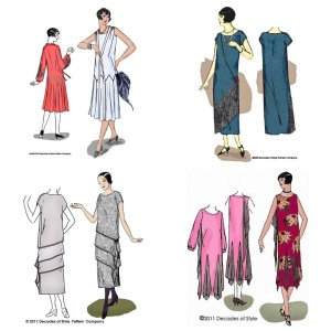 NSB - Decades of Style 1920s patterns