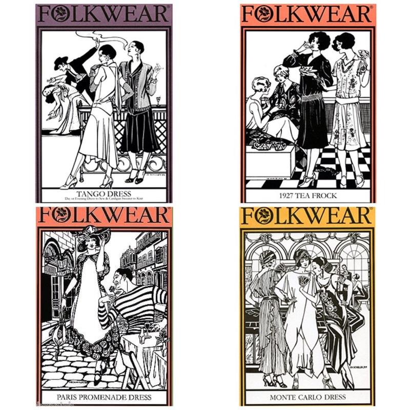 NSB - Folkwear 1920s patterns