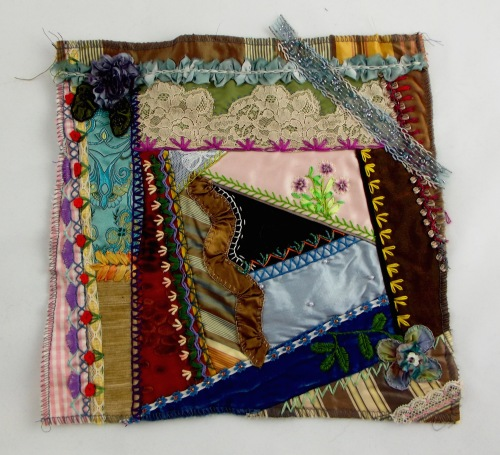 NSB - kitrina crazy quilt single block