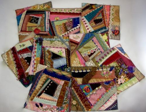 NSB - kitrina crazy quilt squares