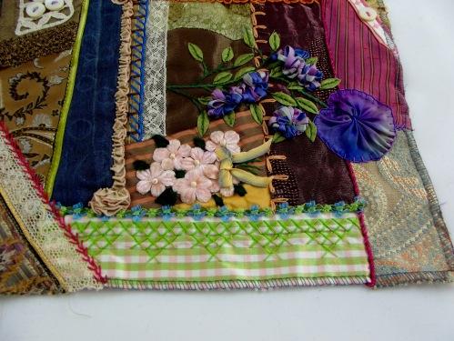 NSB - kitrina crazy quilt velvet flowers