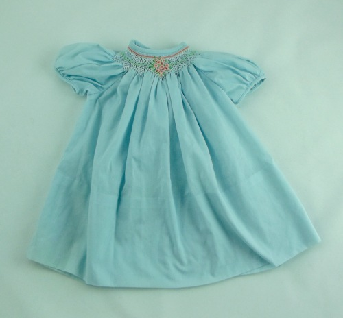 NSB - kitrina smocking blue dress