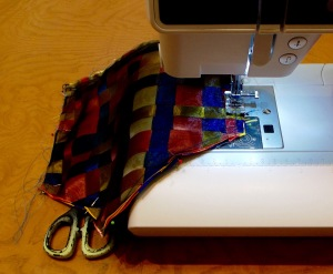 NSB - purse tutorial sew together