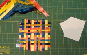 NSB - purse tutorial weave ribbons