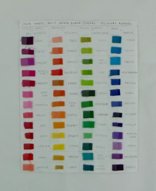 NSB - color-wheel quilt color inventory