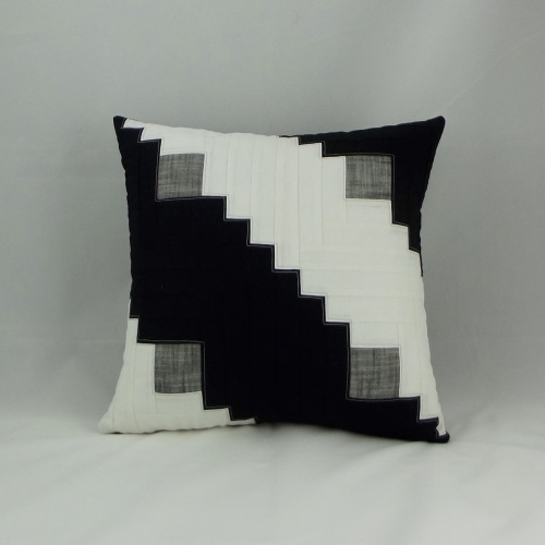 NSB - IMQ Log Cabin pillow