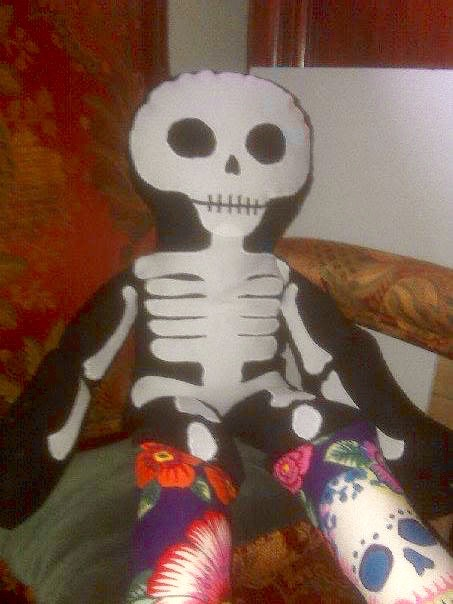 NSB - kl skeleton doll