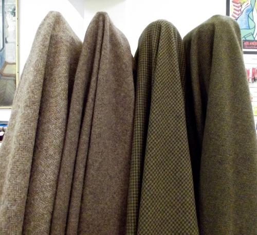 NSB - woolens Harris tweeds