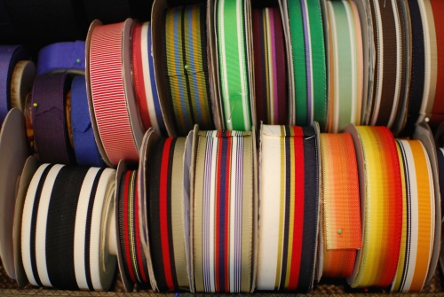 NSB - RR striped grosgrain