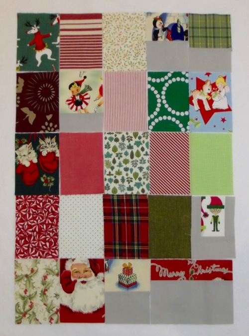 NSB - advent calendar window fabrics