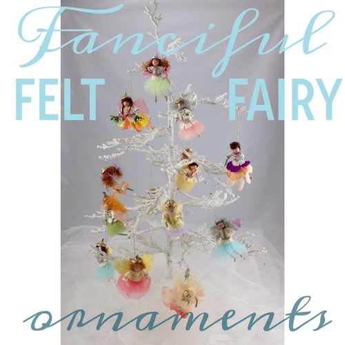 NSB - fanciful felt fairy ornaments header