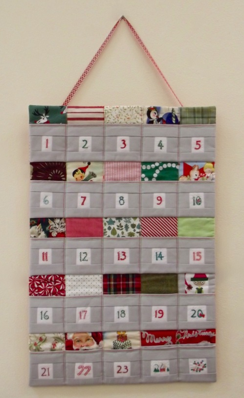 NSB - reusable advent calendar complete