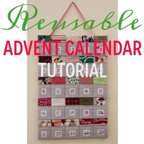 Make A Reusable Advent Calendar Nancy S Sewing Basket