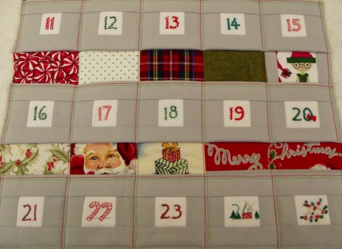 NSB - advent calendar pocket rows