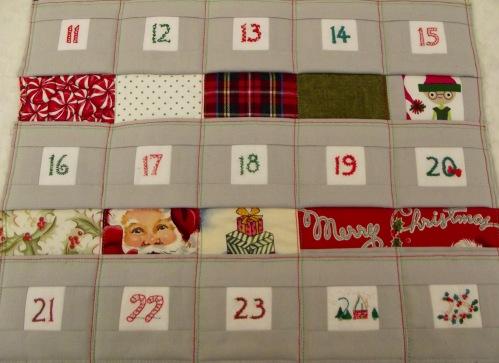 NSB - advent calendar pocket rows