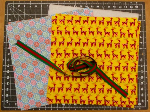 NSB - quick and easy tote cut fabrics to size