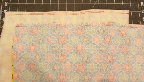 NSB - quick and easy tote sew lining and outer pieces