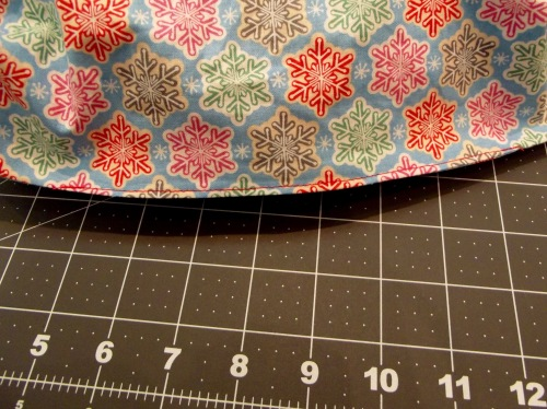 NSB - quick and easy tote stitch opening closed
