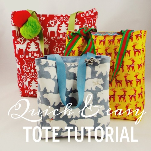 NSB - quick and easy tote tutorial header