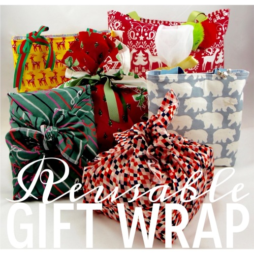 NSB - reusable gift wrap header