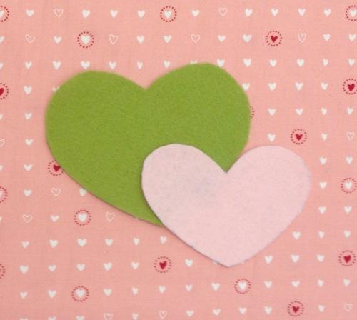 NSB – heartfelt doily cut large small hearts