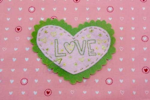 NSB – heartfelt doily stitch together