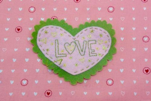 NSB – heartfelt doily stitch together