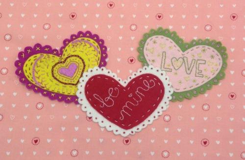 NSB – heartfelt doily valentine