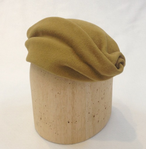 NSB - IzzieLewis felt hat from scrap