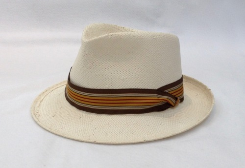 NSB - Kentucky Derby fedora with ribbon