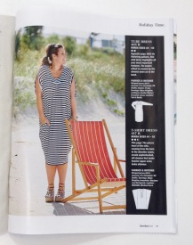 NSB - MMM16 JV knit dress in burdastyle mag