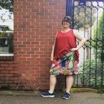 NSB - MMMay16 day 15 Kristina Kiomi tunic + M3830 skirt