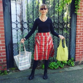 NSB - MMMay16 day 6 Jeannie M5430 skirt & bags