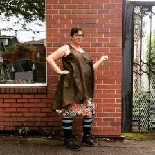 NSB - MMMay16 day 29 Kristina Kiomi tunic + M3830 skirt